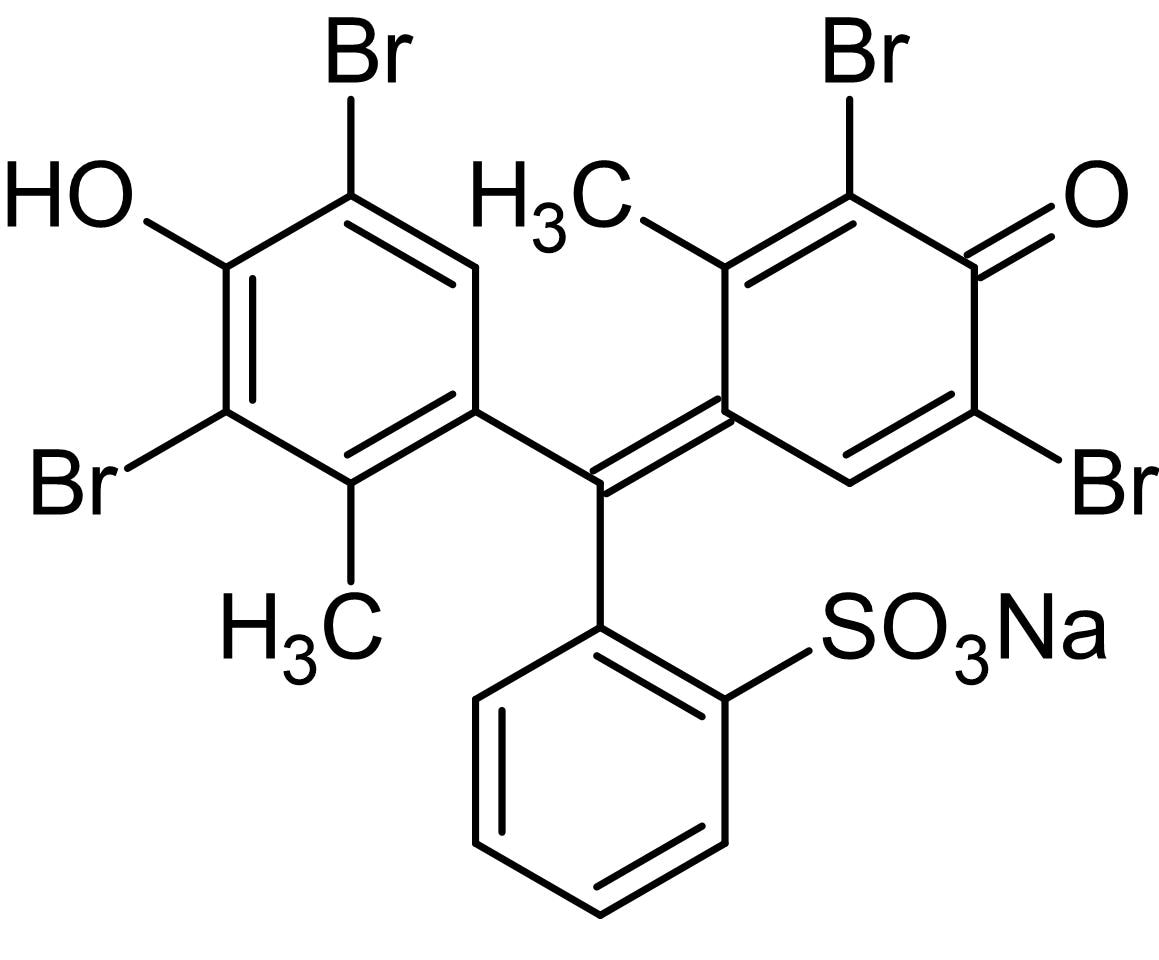 Chemical Structure - Bromocresol green sodium salt, electrophoresis tracking dye (ab146289)
