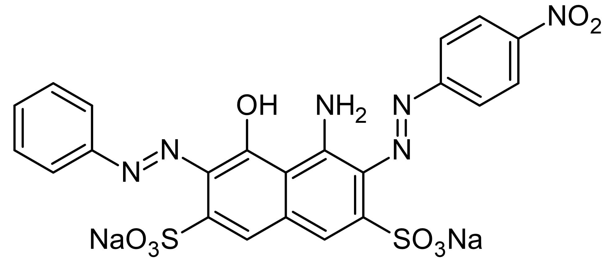 Chemical Structure - Amido black 10B, histological and protein dye (ab146311)