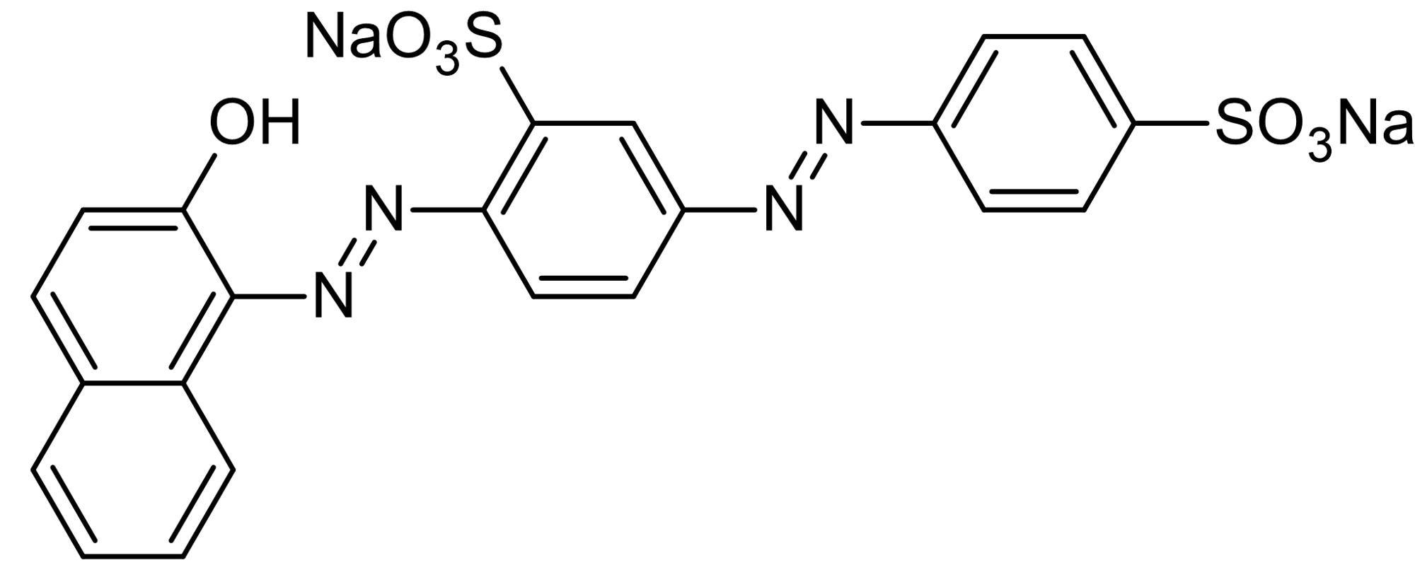 Chemical Structure - Biebrich scarlet, Azo organosulfur dye (ab146312)