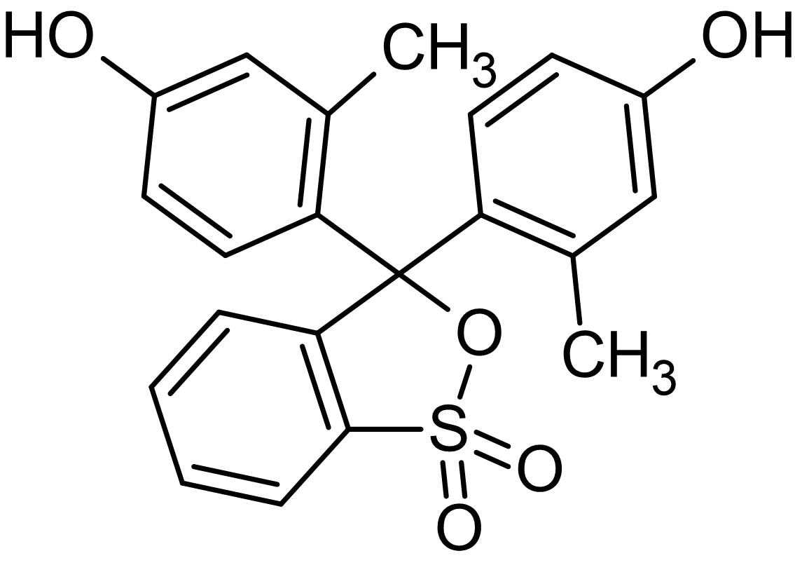 Chemical Structure - m-Cresol purple, pH indicator dye (ab146318)