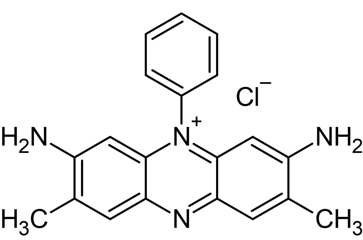 Chemical Structure - Safranin O, stain for Gram negative bacteria (ab146329)
