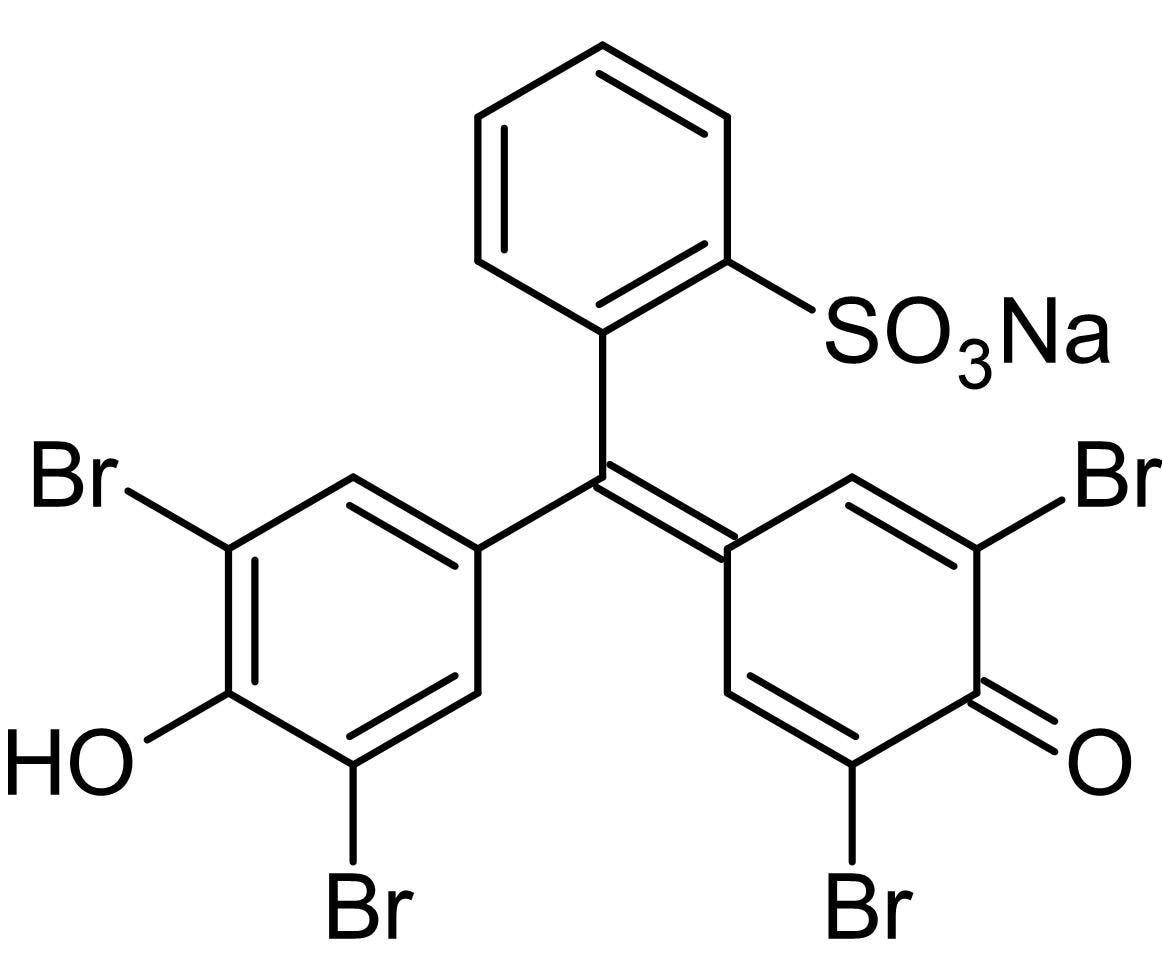 Chemical Structure - Bromophenol blue sodium salt, Tracking dye (ab146333)