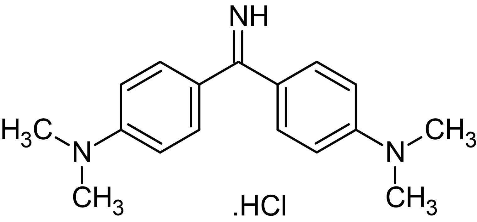 Chemical Structure - Auramine O, Fluorescence microscopy stain (ab146347)