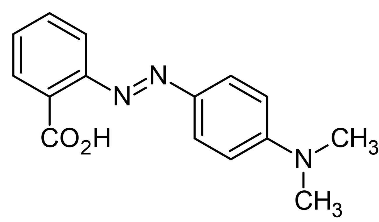 Chemical Structure - Methyl red, pH indicator (ab146368)