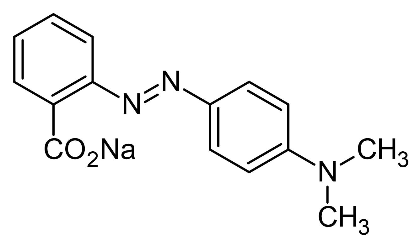 Chemical Structure - Methyl red sodium salt, pH indicator (ab146369)