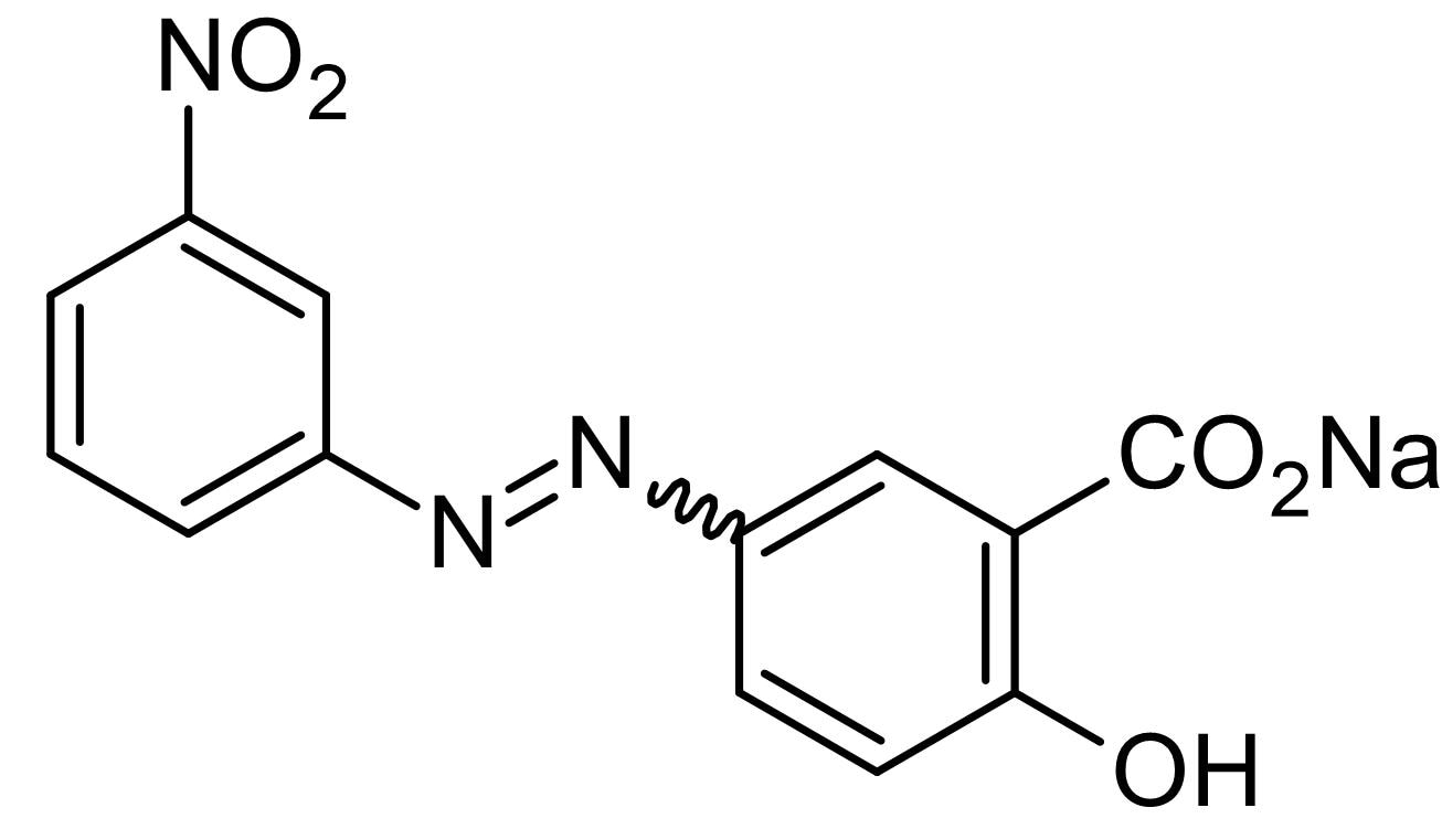 Chemical Structure - Alizarin yellow GG, Acid-base indicator (ab146386)
