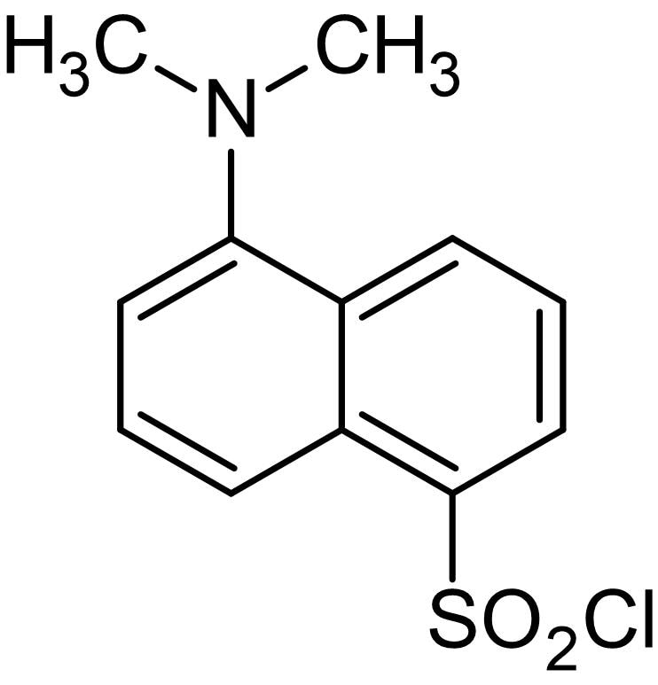 Chemical Structure - Dansyl chloride, Fluorogenic primary amine reactive reagent (ab146397)