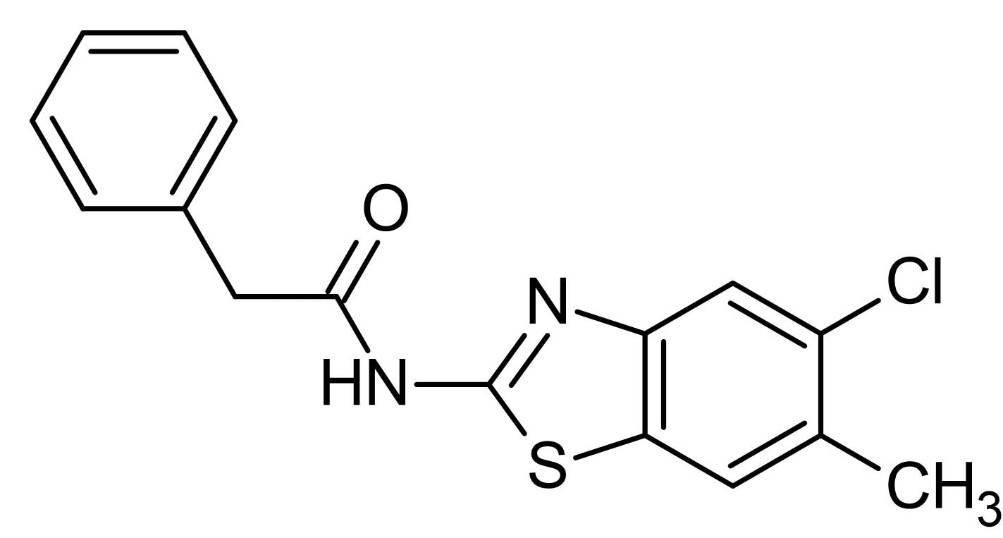 Chemical Structure - LH 846, CK1delta inhibitor (ab146427)