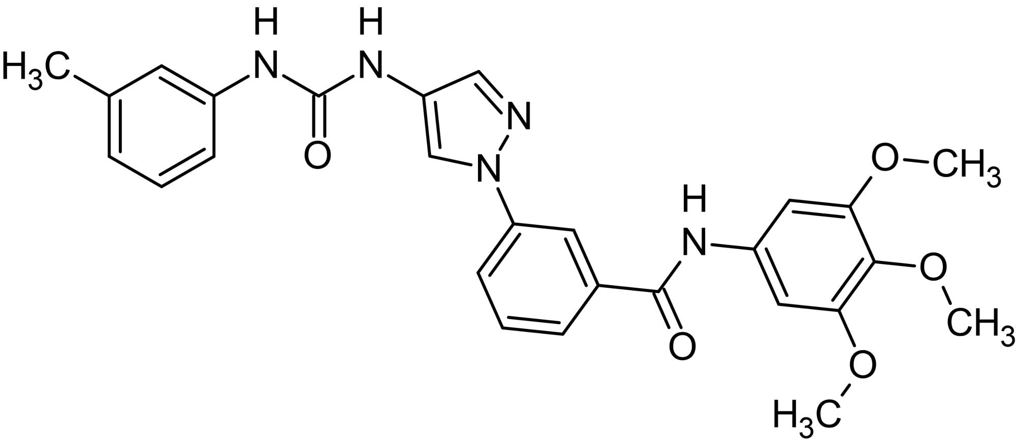 Chemical Structure - SR 3576, JNK3 inhibitor (ab146429)