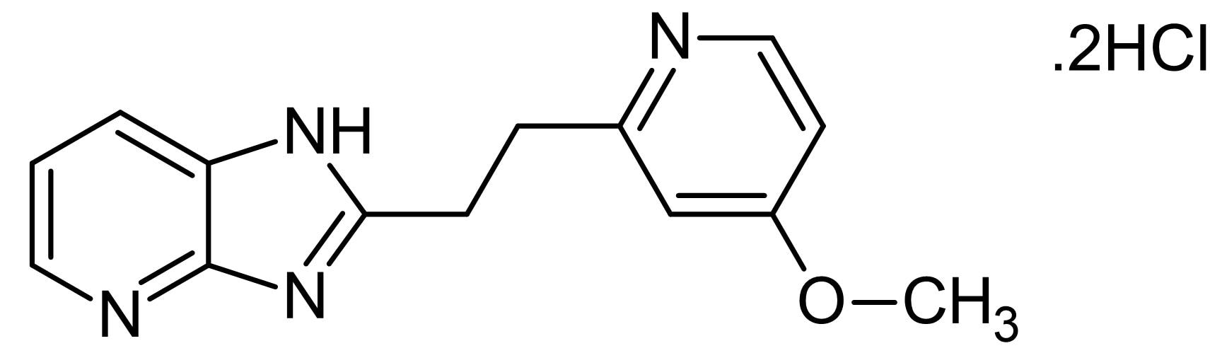 Chemical Structure - BYK 191023 dihydrochloride, iNOS inhibitor (ab146441)