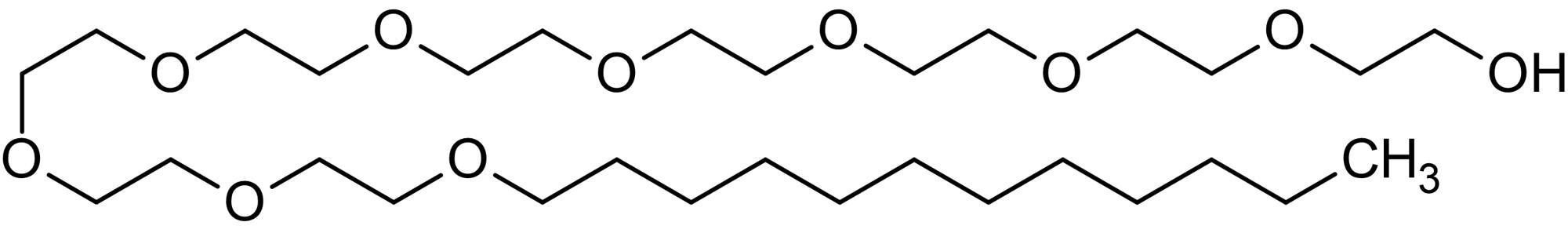 Chemical Structure - C12 E9, non-ionic surfactant (ab146545)