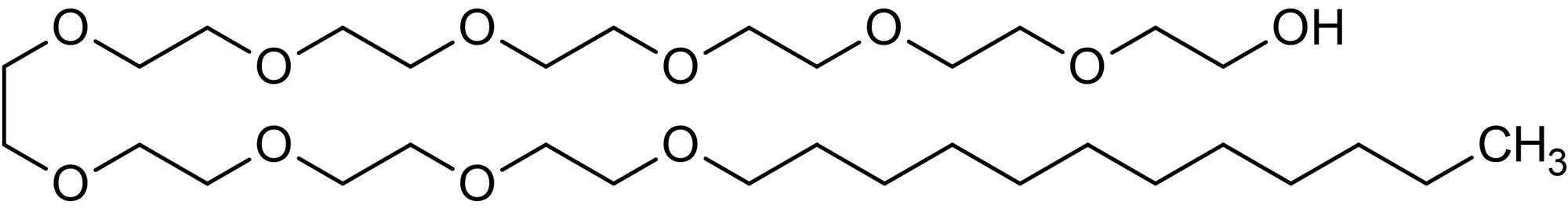Chemical Structure - C12 E10, non-ionic surfactant (ab146563)