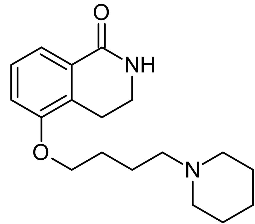 Chemical Structure - DPQ (DMSO solution), PARP-1 inhibitor (ab146611)