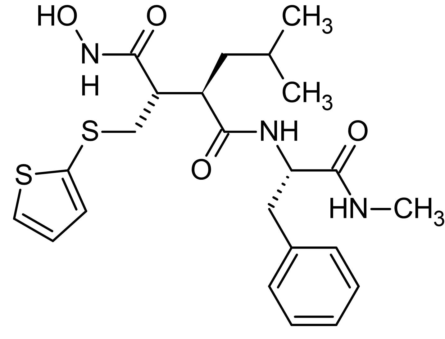 Chemical Structure - Batimastat (BB-94) (DMSO solution), Matrix metalloprotease (MMP) inhibitor (ab146619)