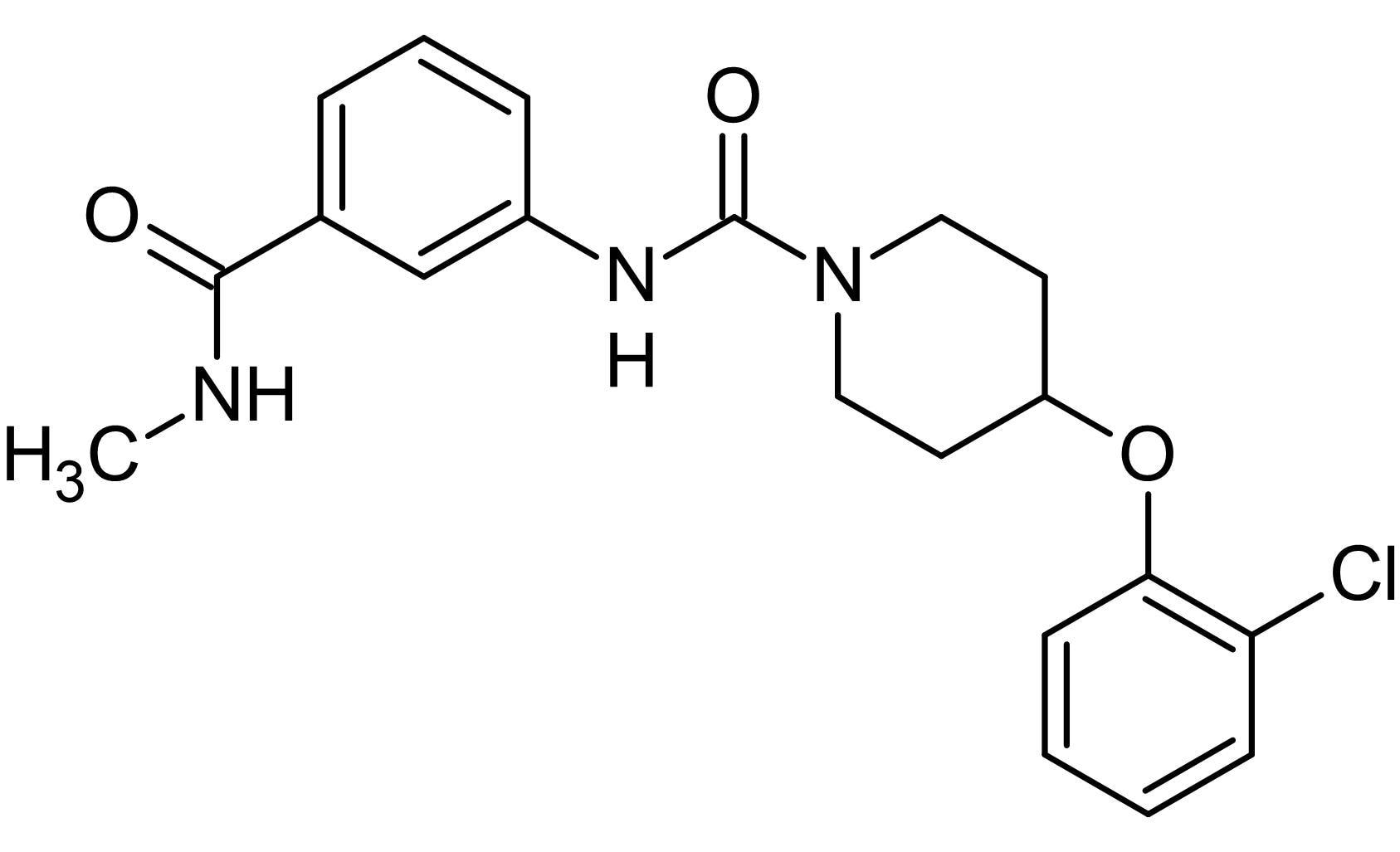 Chemical Structure - SCD1 Inhibitor (DMSO solution), SCD1(stearoyl-CoA desaturase 1) inhibitor (ab146620)