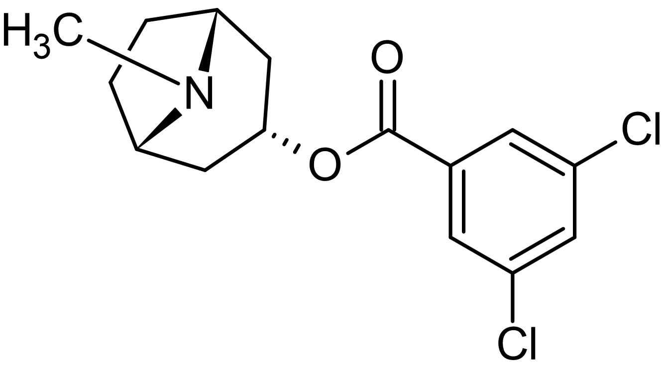 Chemical Structure - MDL 72222, 5-HT<sub>3</sub> receptor antagonist (ab146635)