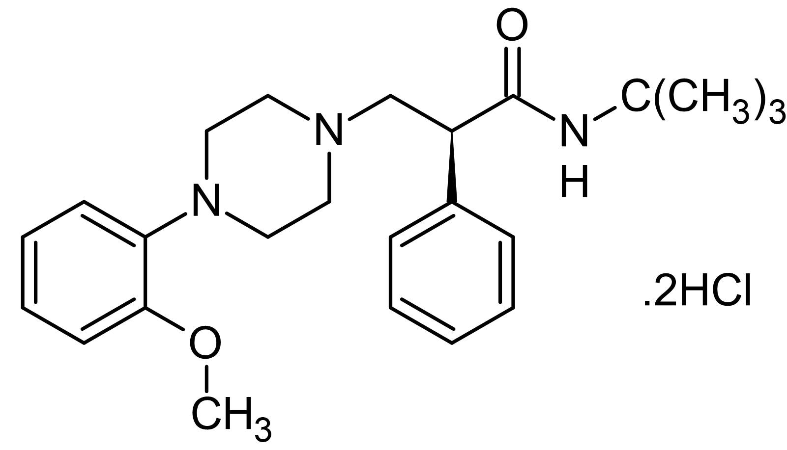 Chemical Structure - (S)-WAY 100135, 5-HT<sub>1A</sub> receptor antagonist (ab146821)