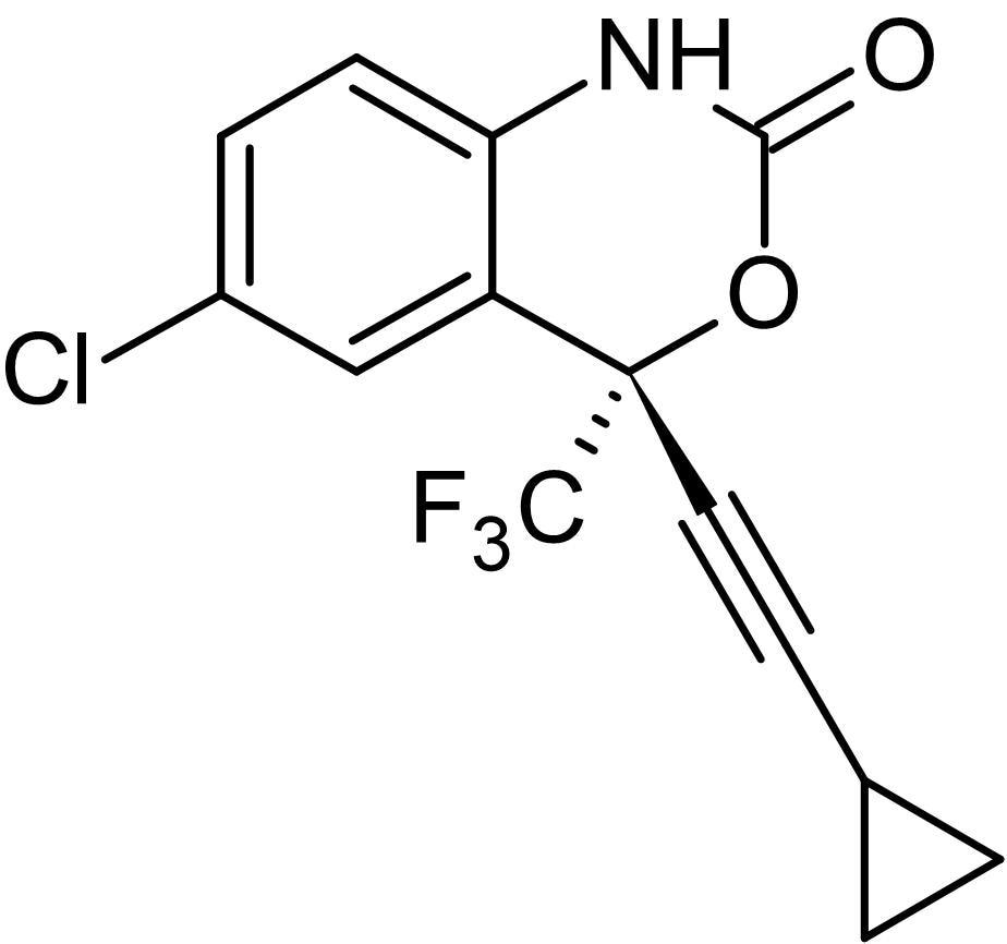 Chemical Structure - Efavirenz, reverse transcriptase inhibitor (ab146822)