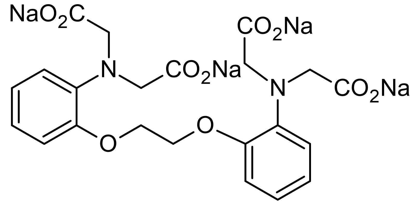 Chemical Structure - BAPTA tetrasodium salt, Ca<sup>2+</sup>chelator (ab147104)