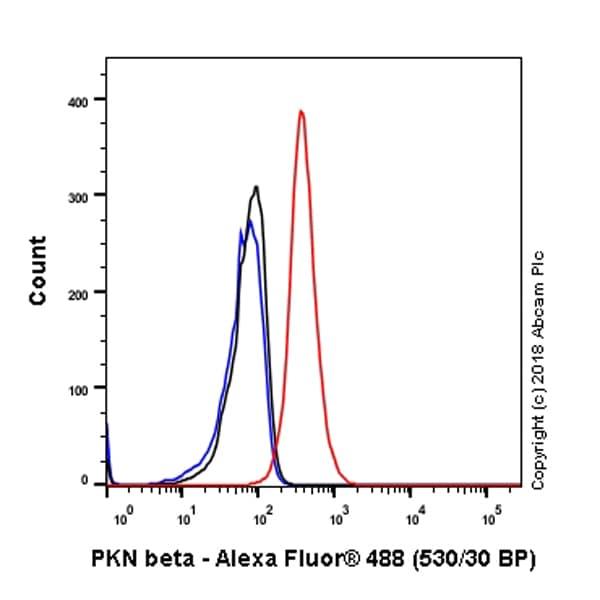 Flow Cytometry - Anti-PKN3 antibody [EPR3511(2)] (ab155076)