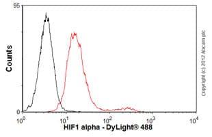 Flow Cytometry - Anti-HIF-1 alpha antibody [mgc3] (ab16066)