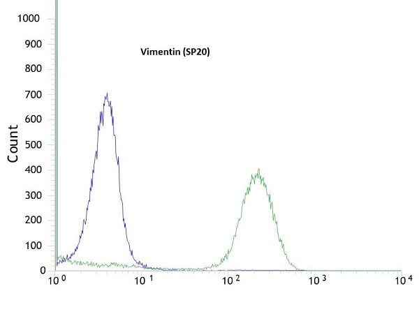 Flow Cytometry -抗波形蛋白抗体[SP20](AB16700)
