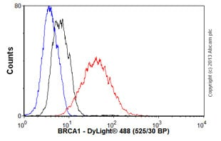 Flow Cytometry - Anti-BRCA1 antibody [MS13] (ab16781)