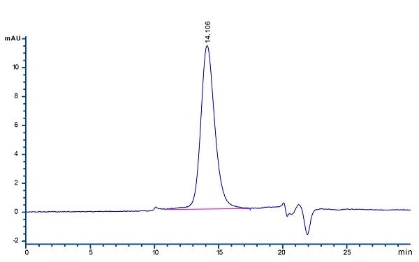 HPLC - Recombinant human PD-L1 protein (ab167713)