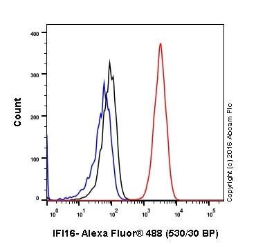 Flow Cytometry - Anti-IFI16 antibody [EPR11767(B)] (ab169788)