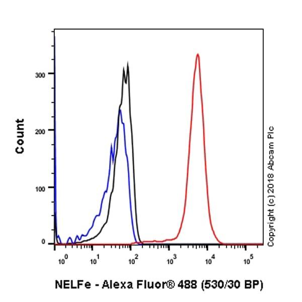 Flow Cytometry - Anti-NELFe antibody [EPR11600] (ab170104)