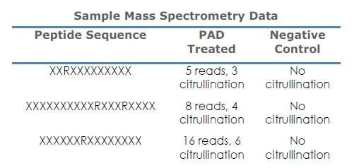 Functional Studies - Recombinant human PADI1 + PADI2 +PADI3 + PADI4 + PADI6 protein (ab170409)