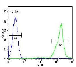 Flow Cytometry - Anti-CD168 antibody - C-terminal (ab170527)