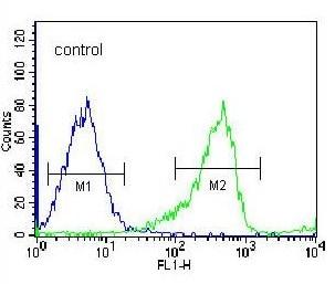 Flow Cytometry - Anti-PCDHB14 antibody - N-terminal (ab170689)