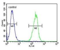 Flow Cytometry - Anti-BLU antibody (ab170785)
