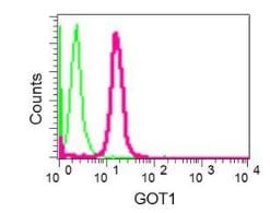 Flow Cytometry - Anti-Aspartate Aminotransferase + FABP-1 antibody [EPR12145] (ab170950)