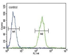 Flow Cytometry - Anti-Thyroxine Binding Globulin antibody - C-terminal (ab175483)