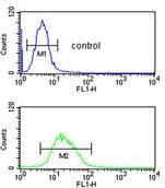Flow Cytometry - Anti-RNase H2 subunit C antibody (ab176197)