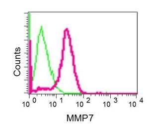 Flow Cytometry - Anti-MMP7 antibody [EPR1251(2)] (ab176325)