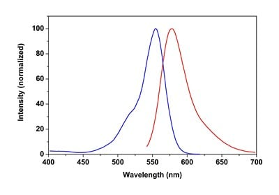Excitation and Emission Spectra of CytoPainter Fixable Cell Viability Assay Kit (Fluorometric - Orange) (ab176743)