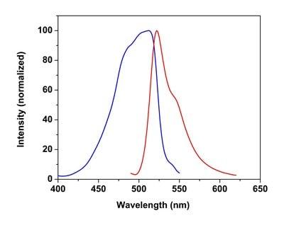 Excitation and Emission Spectra of Free Fatty Acid Uptake Assay Kit (Fluorometric) (ab176768)