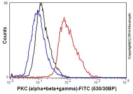 Flow Cytometry - Anti-PKC antibody [EPR16898] (ab179522)