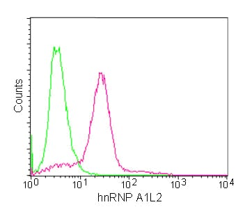 Flow Cytometry - Anti-Heterogeneous Nuclear Ribonucleoprotein (A1-like)  antibody [EPR13673] (ab180124)