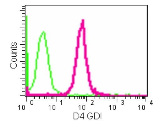 Flow Cytometry - Anti-D4 GDI antibody [EPR14212(B)] (ab181252)