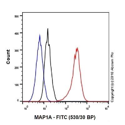 Flow Cytometry - Anti-MAP1A antibody [EPR18994] (ab184350)