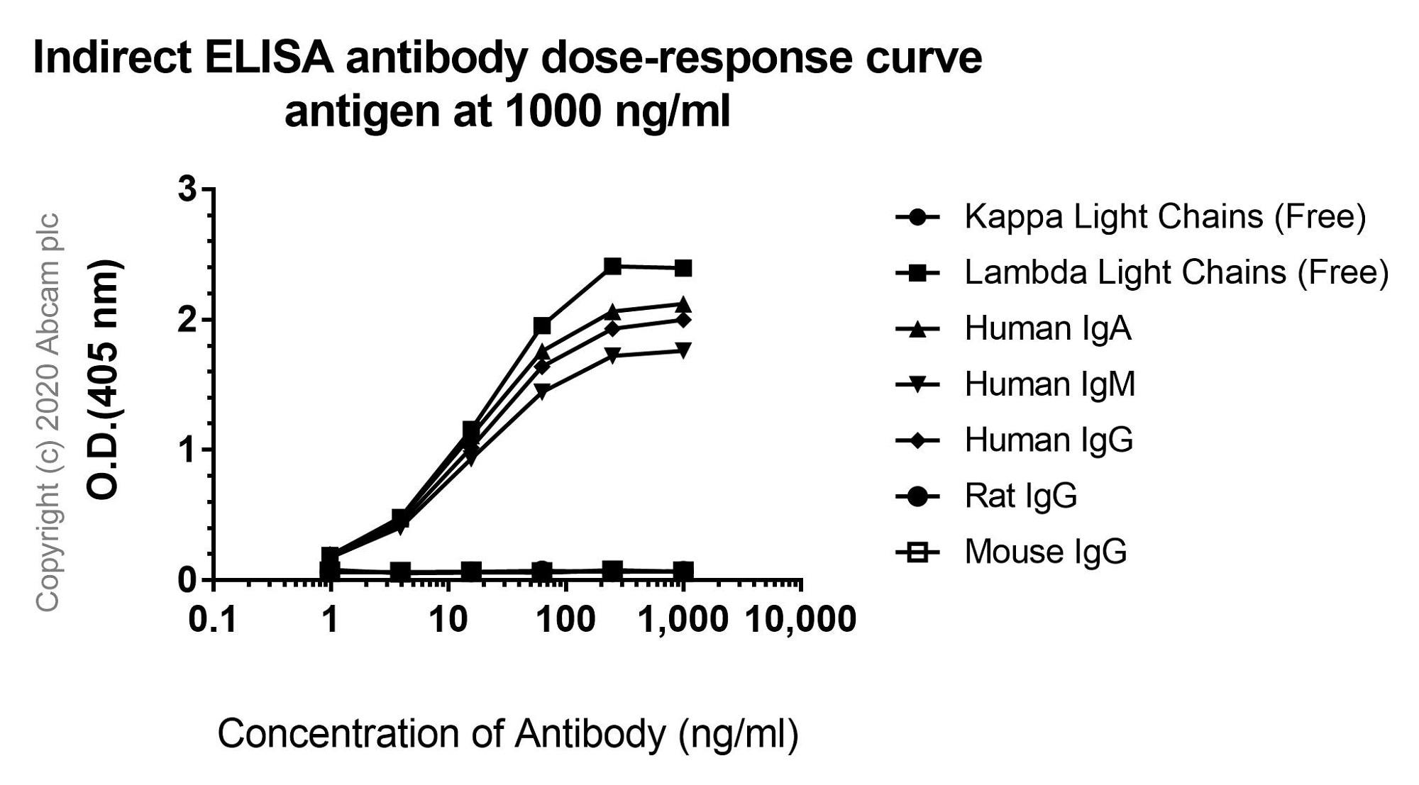 ELISA - Anti-Lambda Light chain antibody [EPR5367-62] - BSA and Azide free (ab185131)