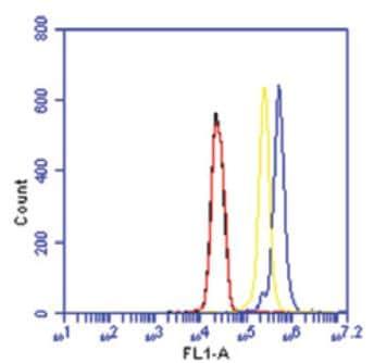 Flow Cytometry - Anti-KDM5B / PLU1 / Jarid1B antibody (ab186056)