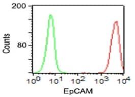 Flow Cytometry - Anti-EpCAM antibody [VU-1D9] (ab187372)