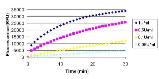 Cellulase Assay using Resorufin Cellobioside.