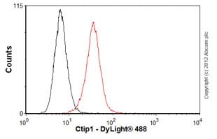 Flow Cytometry - Anti-Ctip1/BCL-11A antibody [18B12DE6] (ab19489)