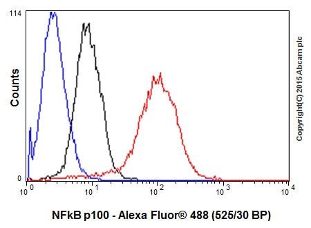 Flow Cytometry - Anti-NFkB p100/NFKB2 antibody [EPR18756] (ab191594)
